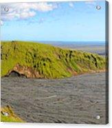 Iceland Landscape Near Vik Acrylic Print by Sergio Boccardo