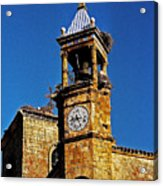 Iglesia De San Martin - Trujillo Acrylic Print by Juergen Weiss