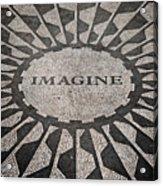 Imagine Acrylic Print by Benjamin Matthijs