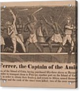 In 1839 Fifty-four African Captives Acrylic Print by Everett