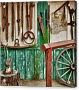 In Another Time Acrylic Print by Sandra Bronstein