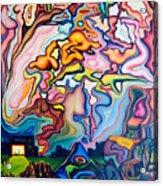 Incarnation Acrylic Print by Aswell Rowe