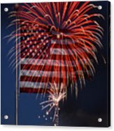 Independence Day Acrylic Print by Skip Willits