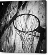 Indiana Hoop Acrylic Print by Michael L Kimble