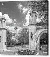 Indiana University Sample Gates Acrylic Print by University Icons
