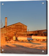 Industrial Site 1 Acrylic Print by Douglas Barnett