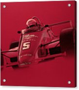 Indy Racing Acrylic Print by Jeff Mueller