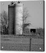 Iowa Towers 1 Acrylic Print by Jame Hayes