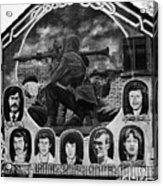 Ira Wall Mural Belfast Acrylic Print by Joe Fox
