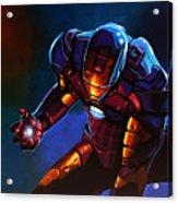Iron Man Acrylic Print by Paul Meijering