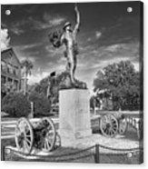Iron Mke Statue - Parris Island Acrylic Print by Scott Hansen