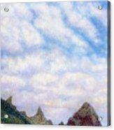 Island Sky Acrylic Print by Kenneth Grzesik