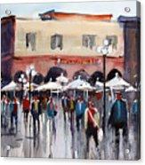 Italian Marketplace Acrylic Print by Ryan Radke