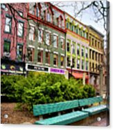 Ithaca Commons Acrylic Print by Christina Rollo