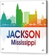 Jackson Ms Acrylic Print by Angelina Vick