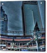 Jacksonville Landing Acrylic Print by William Jones
