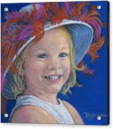 Jada's Hat Acrylic Print by Tanja Ware