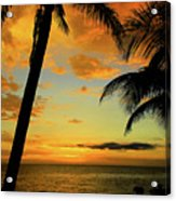 Jamaican Night Acrylic Print by Kamil Swiatek