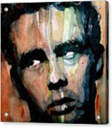 James Dean Acrylic Print by Paul Lovering