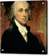 James Madison Acrylic Print by American School