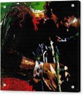 Jazz Miles Davis 1 Acrylic Print by Yuriy  Shevchuk
