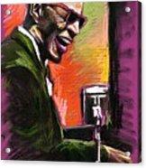 Jazz. Ray Charles.2. Acrylic Print by Yuriy  Shevchuk