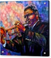 Jazz Solo Acrylic Print by Linda Marcille