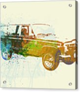 Jeep Wagoneer Acrylic Print by Naxart Studio