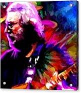 Jerry Garcia Grateful Dead Signed Prints Available At Laartwork.com Coupon Code Kodak Acrylic Print by Leon Jimenez