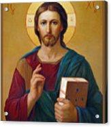 Jesus Christ Pantocrator Acrylic Print by Svitozar Nenyuk