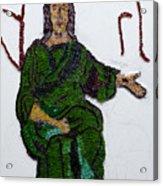 Jesus Acrylic Print by Emma Kinani