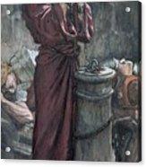 Jesus In Prison Acrylic Print by Tissot