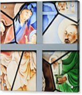 Jesus Is Chinese Acrylic Print by Christine Till