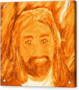 Jesus Is The Christ The Holy Messiah 3 Acrylic Print by Richard W Linford
