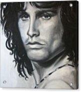 Jim Morrison Acrylic Print by Eric Dee