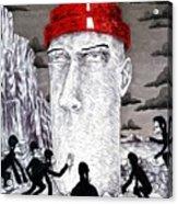 Jocko Homo Acrylic Print by Jeremy Baum