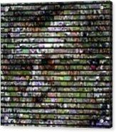Joe Paterno Mosaic Acrylic Print by Paul Van Scott
