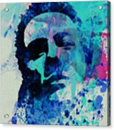 Joe Strummer Acrylic Print by Naxart Studio