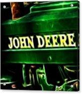 John Deere 2 Acrylic Print by Cheryl Young