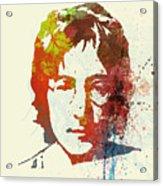John Lennon Acrylic Print by Naxart Studio