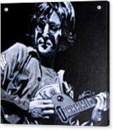John Lennon Acrylic Print by Luke Morrison