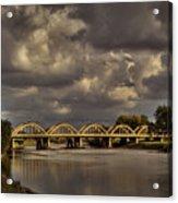 John Mack Bridge Acrylic Print by Fred Lassmann