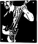 John Petrucci No.01 Acrylic Print by Caio Caldas