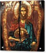 John The Baptist Acrylic Print by Iosif Ioan Chezan