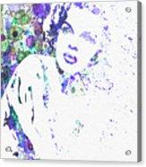 Judy Garland Acrylic Print by Naxart Studio