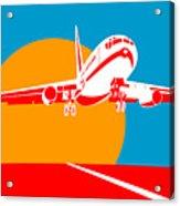 Jumbo Jet  Acrylic Print by Aloysius Patrimonio