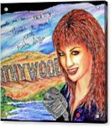 Kathywood Acrylic Print by Joseph Lawrence Vasile
