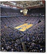 Kentucky Wildcats Rupp Arena Acrylic Print by Replay Photos