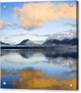 Ketchikan Sunrise Acrylic Print by Mike  Dawson