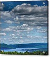 Keuka Landscape Iv Acrylic Print by Steven Ainsworth